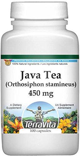 Java Tea (Orthosiphon stamineus) - 450 mg (100 capsules, ZIN: 511038)