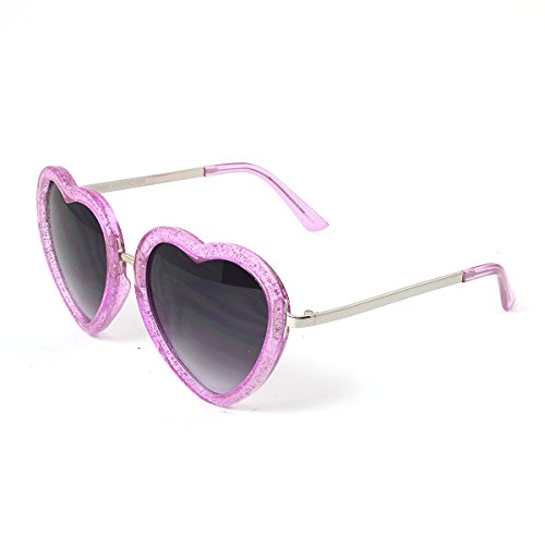 Heart Shaped Glittered Acrylic Frame Fashion - Frames Shaped Faces For Heart