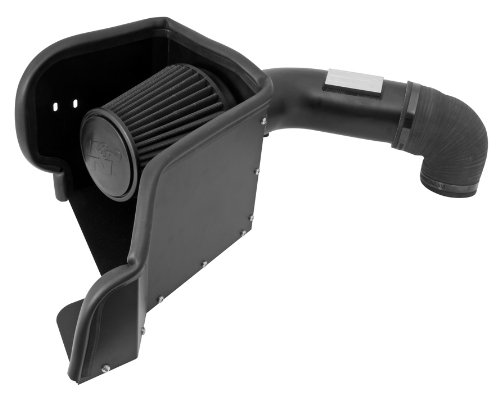 K&N Performance Air Intake Kit 71-1561 with Black Dry Filter for Dodge Ram Pickup Truck 1500 2500 5.7L V8