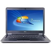 Dell Latitude E7440 14 FHD Laptop Intel i7 Dual Core 2.1GHz 8GB 256GB SSD W8.1P - Light Gray Skin (Certified Refurbished)