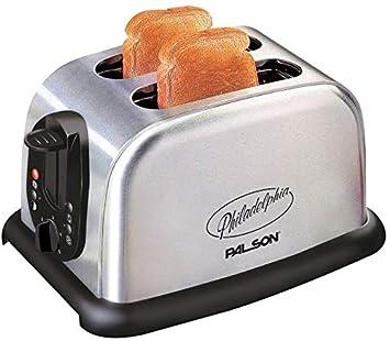 4b7bc9f60 Palson Philadelphia Toaster [30410] Silver: Amazon.ae