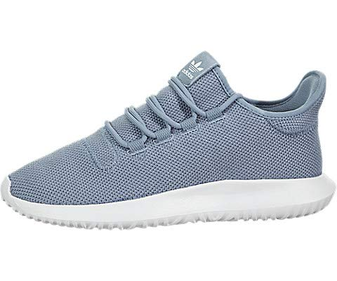 adidas kids Tubular Shadow J, Raw Grey/White/White, 6 M US Big Kid