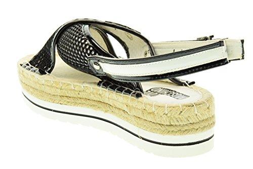 LOVE MOSCHINO Sandalen für Damen JA16364G01JE110B 39 Nero / bianco