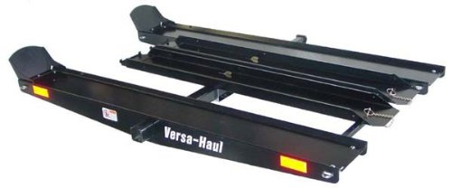 VersaHaul Hitch Mounted Go Cart & ATV Carrier with Loading Ramp