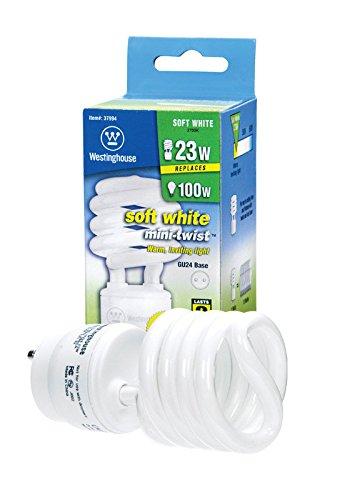 Westinghouse 3799400 23W CFL Light Bulb, (100W Equal) 2700K Soft White 82 CRI 1600 Lm, 8-Pack