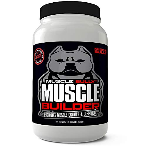 Muscle Builder for Bullies, Pitbulls, Bull Breeds – Contains Proven Muscle Building Ingredients That Support Muscle Growth & Definition On Your Dog. Made in The USA. 100% Safe, No Side Effects. Review
