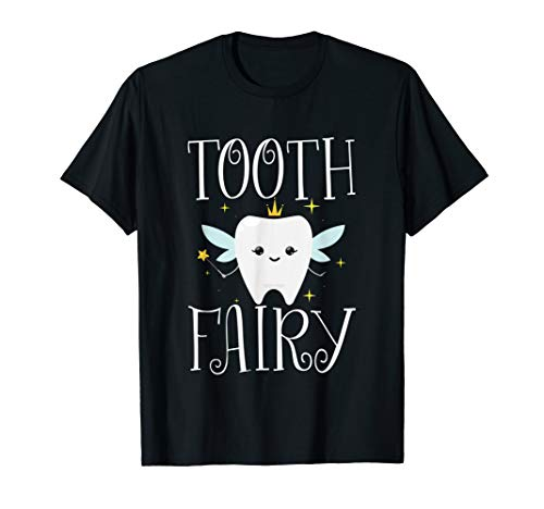 Tooth Fairy Halloween Costume T Shirt for Adults and Kids T-Shirt -