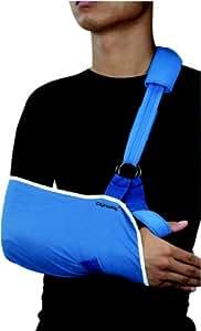 Dynamix Ortho - Banda en cabestrillo (tamaño grande), color azul