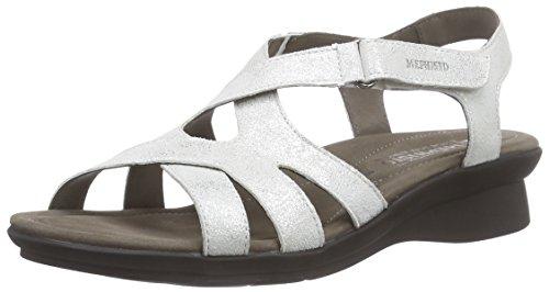 Parcela Sandales White Mephisto Femme Ouvertes White Blanc Fashion 26630 qpwqIO