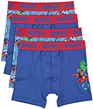 Avengers Boys Boxers - Pack of 4 Kids Underwear