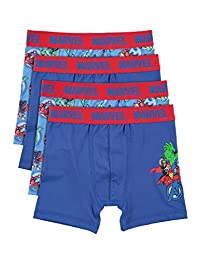 Avengers Boys Boxers | Pack of 4 Kids Underwear Size 6