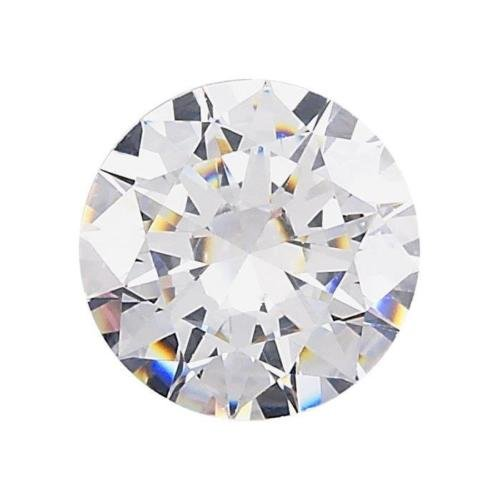 Cubic Zirconia Round 1.5 mm. Pack of 1000 Pieces CZ Grade AA Loose White Color by trois_s