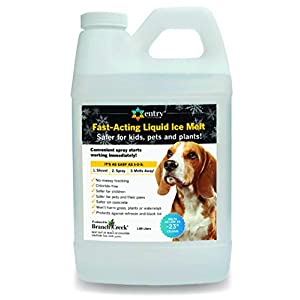 SYNATEK ENTRYJUG1/2GAL Entry, 1/2 Gallon, Chloride Free Liquid Snow & Ice Melter,