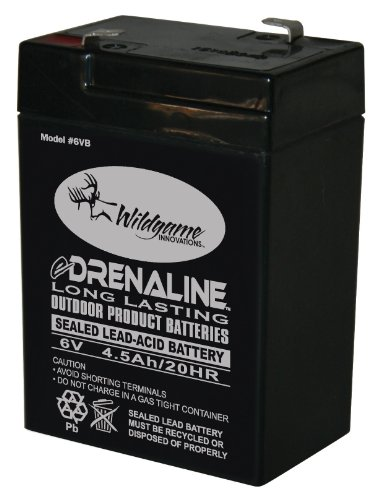Wildgame Innovations 6-Volt eDRENALINE Tab Style Rechargeable Battery ()