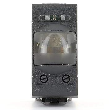Sensori Crepuscolari Bticino.Bticino Livinglight International Interruttore Infrarosso Passivo Per Accensione Luce Antracite