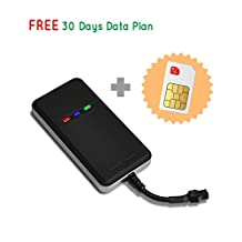 Canada Real Time GPS Tracker, includes SIM card with data plan for tracking vehicle car truck