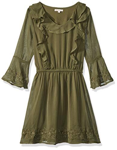 Green Dress Kids - Ella Moss Girls' Big Bell Sleeve