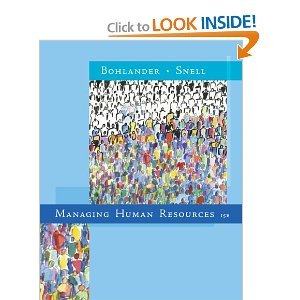 Managing Human Resources 15th (Fifteenth) Edition bySnell pdf