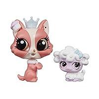 Littlest Pet Shop Pet Pawsabilities Bonnie Barkington & Puffball Petrovsky