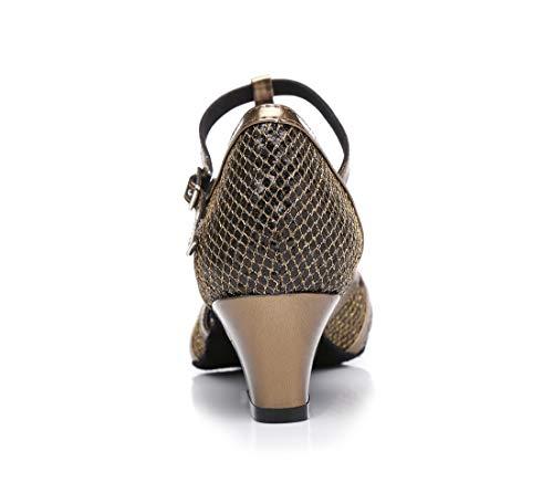 5cm Modern MGM Damen Heel Brown Jazz amp; Joymod BBq1pIY