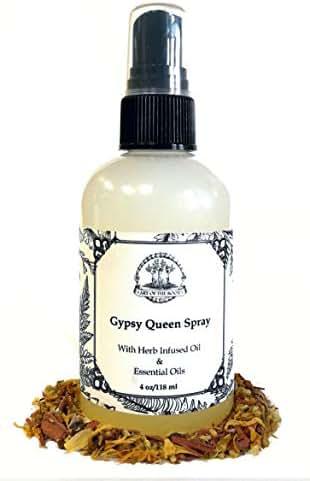 Gypsy Queen Spray 4 oz Hoodoo, Voodoo, Wicca, Pagan
