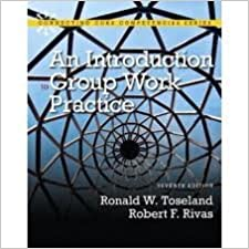Book An Introduction to Group Work Practice 7th (seventh) edition
