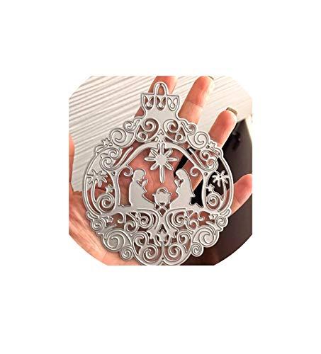 Metal Cutting Dies Scrapbooking Steel Craft Die Cuts Paper Art Emboss Card Making Stencil 103128Mm,As Picture (Memory Box Dies Border)