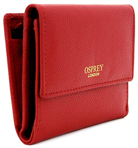 265c575847e67 Osprey of London  Henny  Nappa Leather Purse in Red  Amazon.co.uk  Luggage