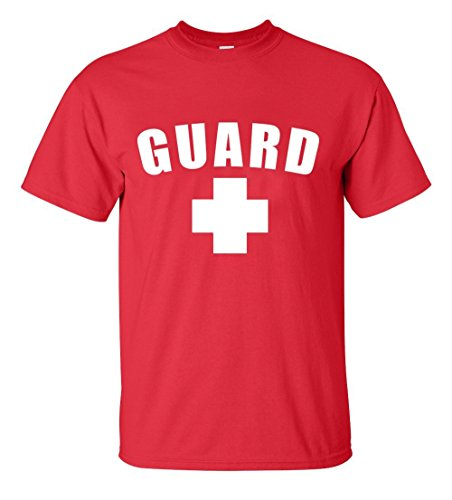Guard T-Shirt (Red, Small)