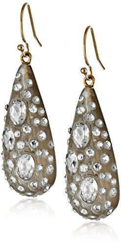 Alexis Bittar Women's Small Diamond Dust Dew Drop Warm Grey