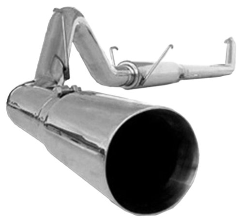 MBRP S6104409 T409 Stainless Steel Turbo Back Single Side Exhaust System ()
