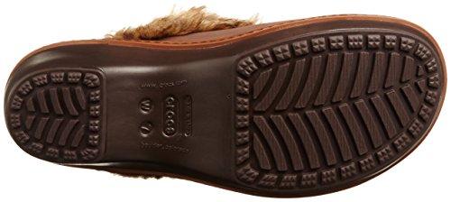 Crocs Fuzz Cobbler Clog Mahogany Cinnamon wRwr6q7