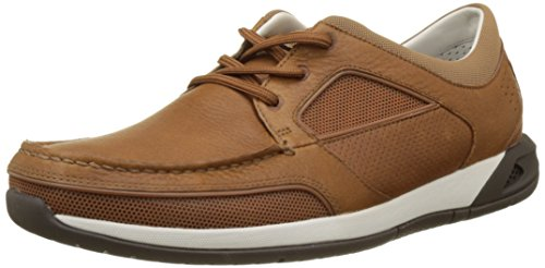 Clarks Ormand Sail, Náuticos Para Hombre Marrón (Light Brown Lea)