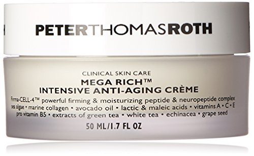 Peter Thomas Roth Mega-Rich Intensive Anti-Aging Cellular Creme for Unisex, 1.7 Ounce (Moisturizer Mega)