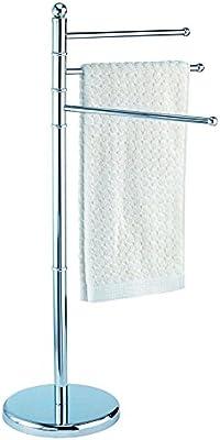 Toallero de pie Perchero portatoallas acero porta toallas baños ropero 57342: Amazon.es: Bricolaje y herramientas