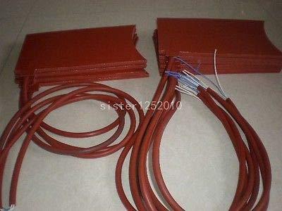 FidgetFidget Rubber Silicon Band Metal Oil Drum Heater Electric Heater 220V 200MMx300MM by FidgetFidget (Image #2)