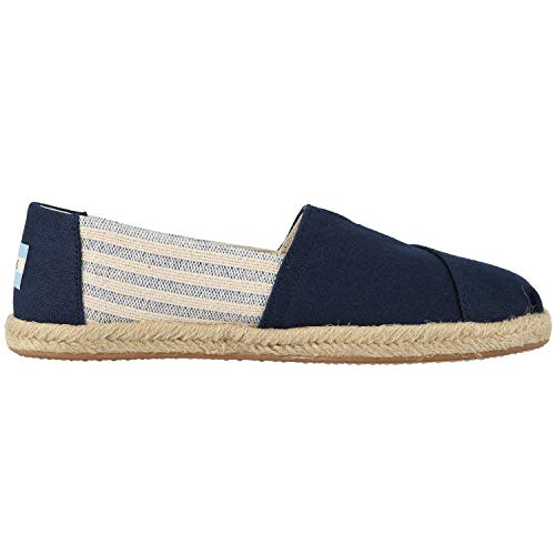 - TOMS Women's Navy University Rope 10013504 (Size: 9.5)