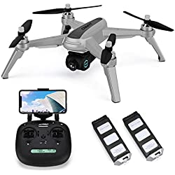 JJRC X5 FPV Drone with 1080P HD 90° Adjustable Camera and Brushless Motors