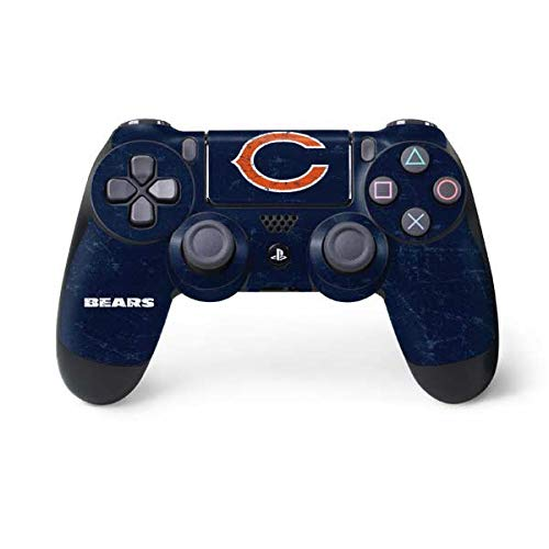 Bears Accessories Chicago (NFL Chicago Bears Distressed Skin for Sony PlayStation 4/ PS4 Dual Shock4 Controller)