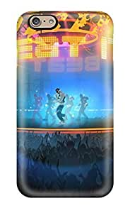 Fashion Tpu Case For Iphone 6- Michael Jackson Beat It Defender Case Cover