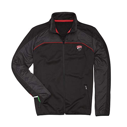 (Ducati Corse Speed Fleece Full Zip Jacket (XL) )