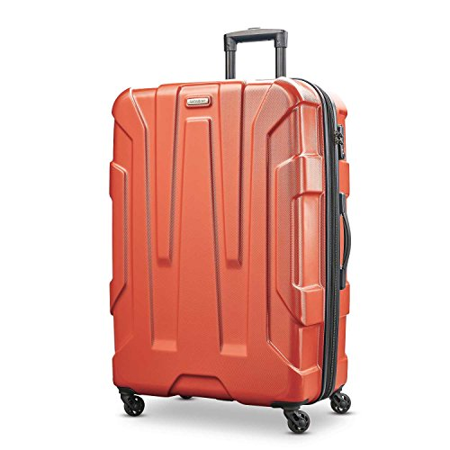 Samsonite Checked-Large, Burnt Orange