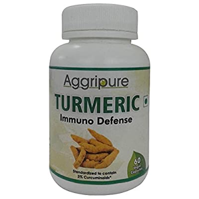 Pure, Fresh & Organic Turmeric Curcumin Herb Root Powder & Extract Blend Formula - Best Arthritis Joint Pain Relief Product & Anti Inflammation Supplement - Mental Anxiety Calmness Pills
