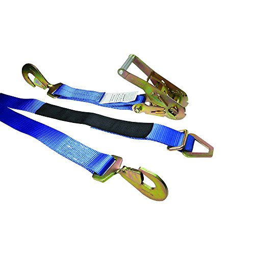 Blue Auto Down Ratchet Strap