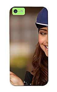 Awesome VEoWxN-401-xYXJx Rightcorner Defender Tpu Hard Case Cover For Iphone 5c- Women Smiling Baseball Caps Peace Sign Nataniele Ribiero Beautiful Woman