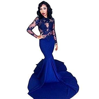 Amazon.com: Changjie Women's Mermaid Prom Dresses 2016