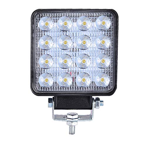 MuLuo Replacement for Jeep Energy Saving Square Ultra-Thin 160W Off-Road Vehicle Spotlight LED Work Light