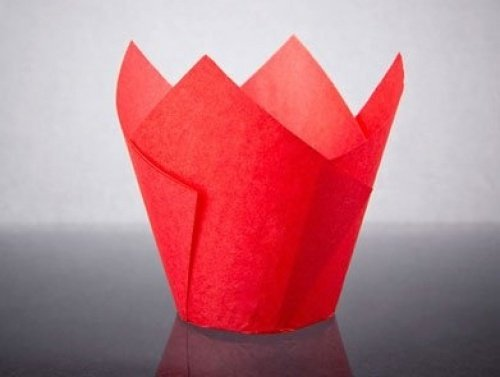 bakery direct 200 Rojo Tulip Muffin Envuelve Bakery direct Ltd