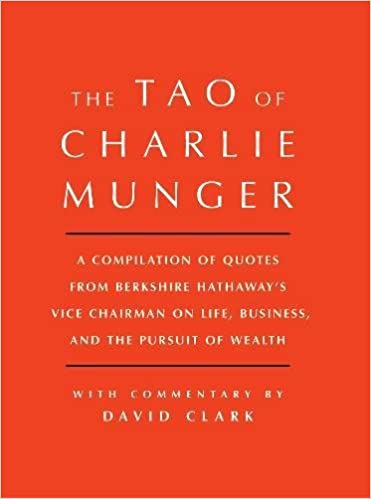 Image result for the tao of charlie munger
