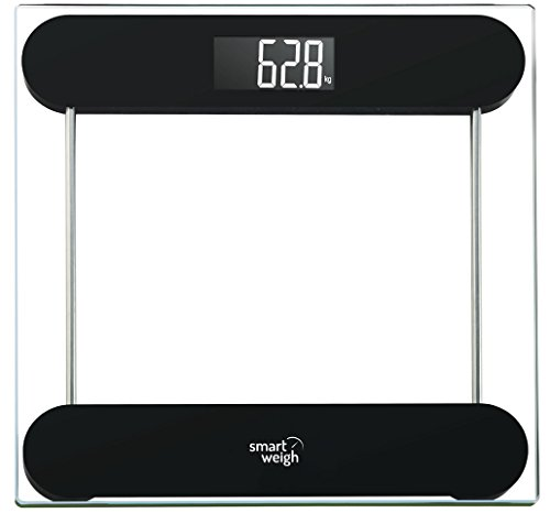 smart-weigh-precision-digital-vanity-bathroom-scale-smart-step-on-technology-tempered-glass-platform